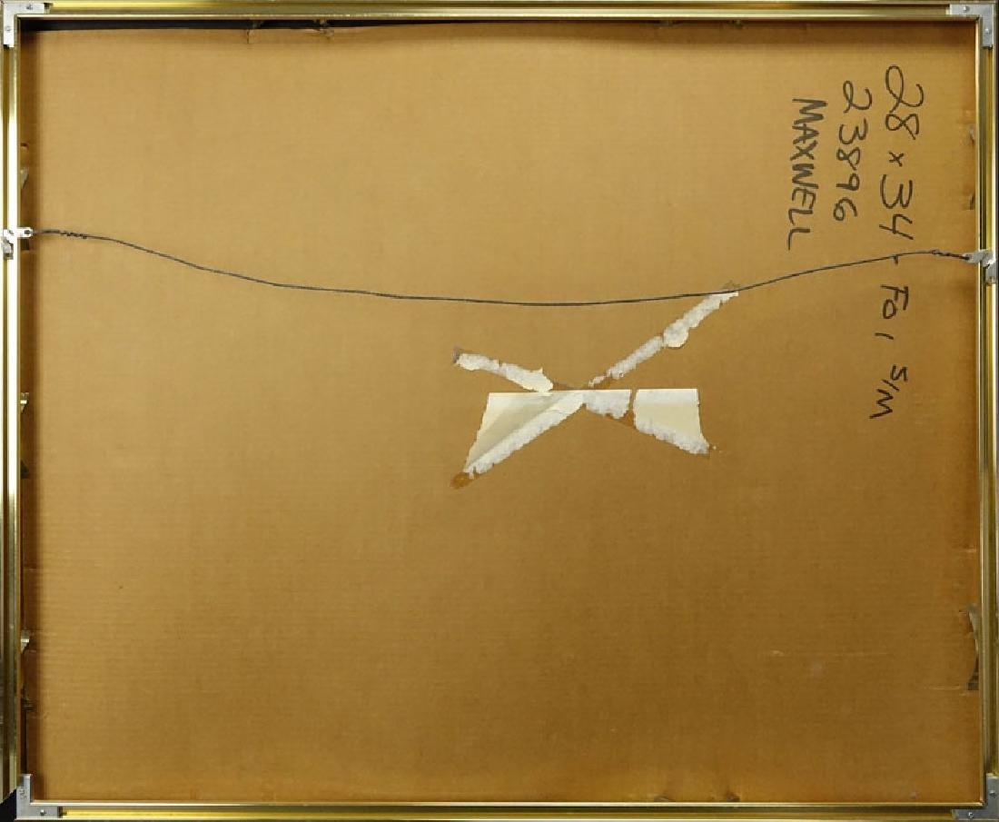 "Paul Maxwell, American (b-1925) ""Untitled"" Acrylic Hand - 5"