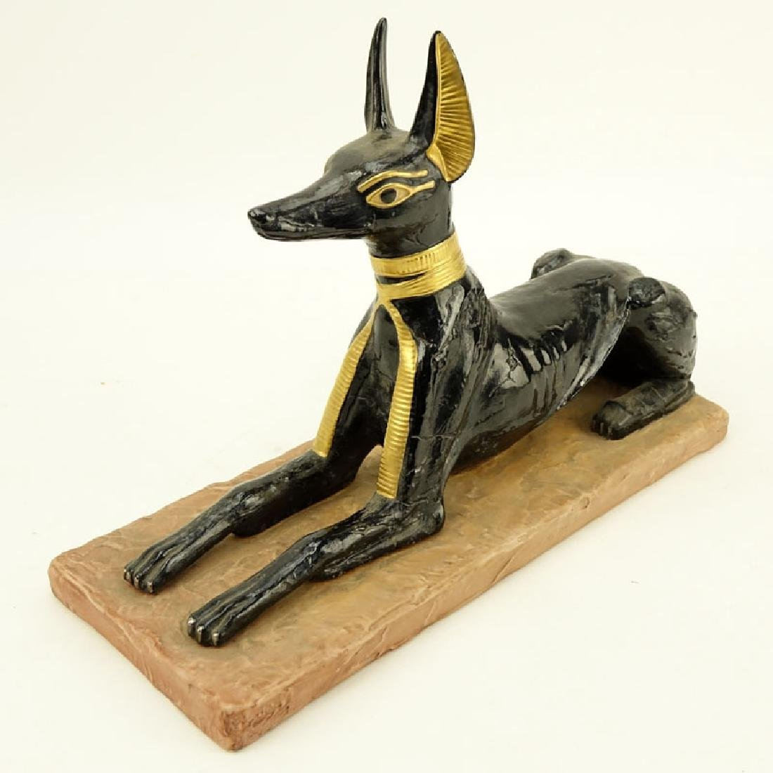 "Boehm Porcelain ""Egyptian God Anubis"" Limited Edition"