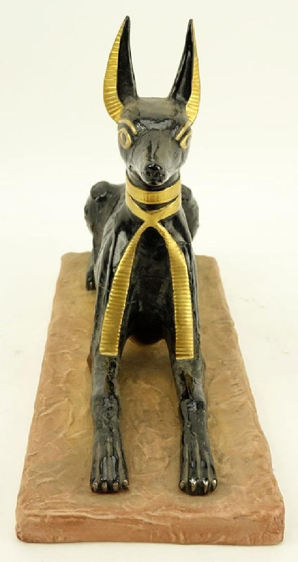 "Boehm Porcelain ""Egyptian God Anubis"" Limited Edition - 2"
