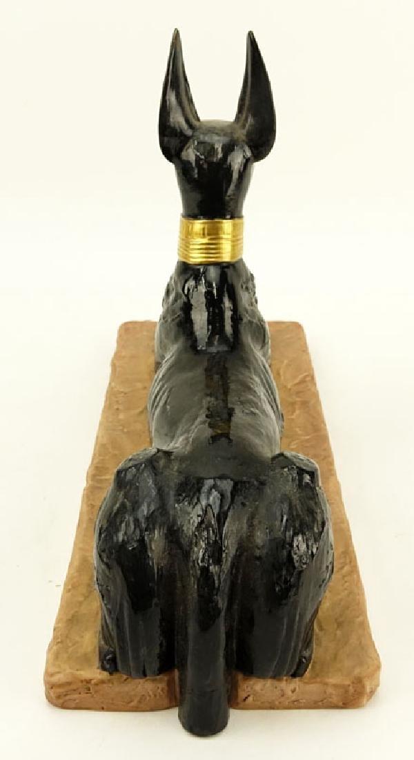 "Boehm Porcelain ""Egyptian God Anubis"" Limited Edition - 6"