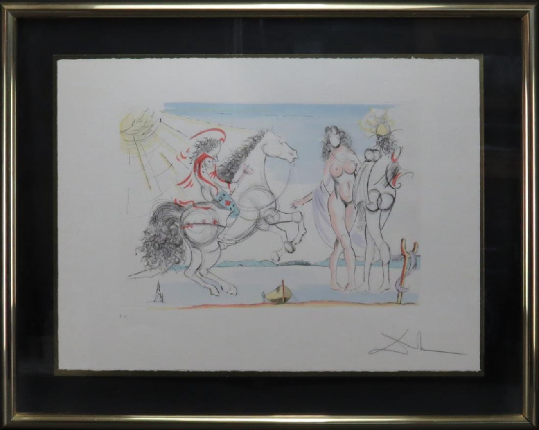 Salvador Dalí, Spanish (1904-1989) Color lithograph - 2
