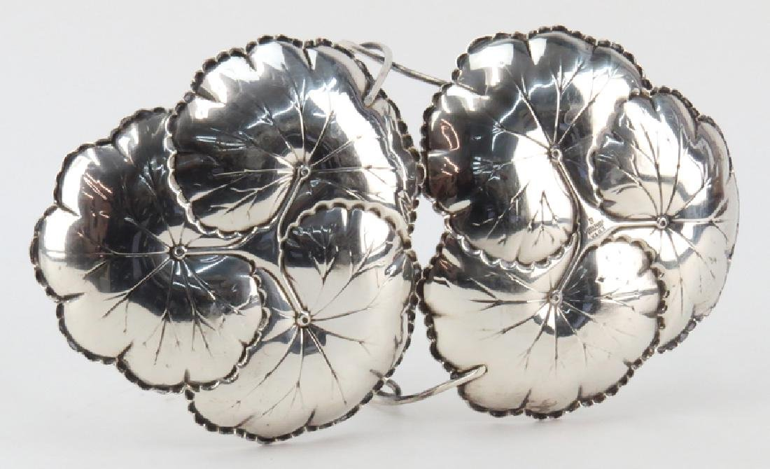 Reed and Barton Sterling Silver Lilly Pad Form Serving - 3