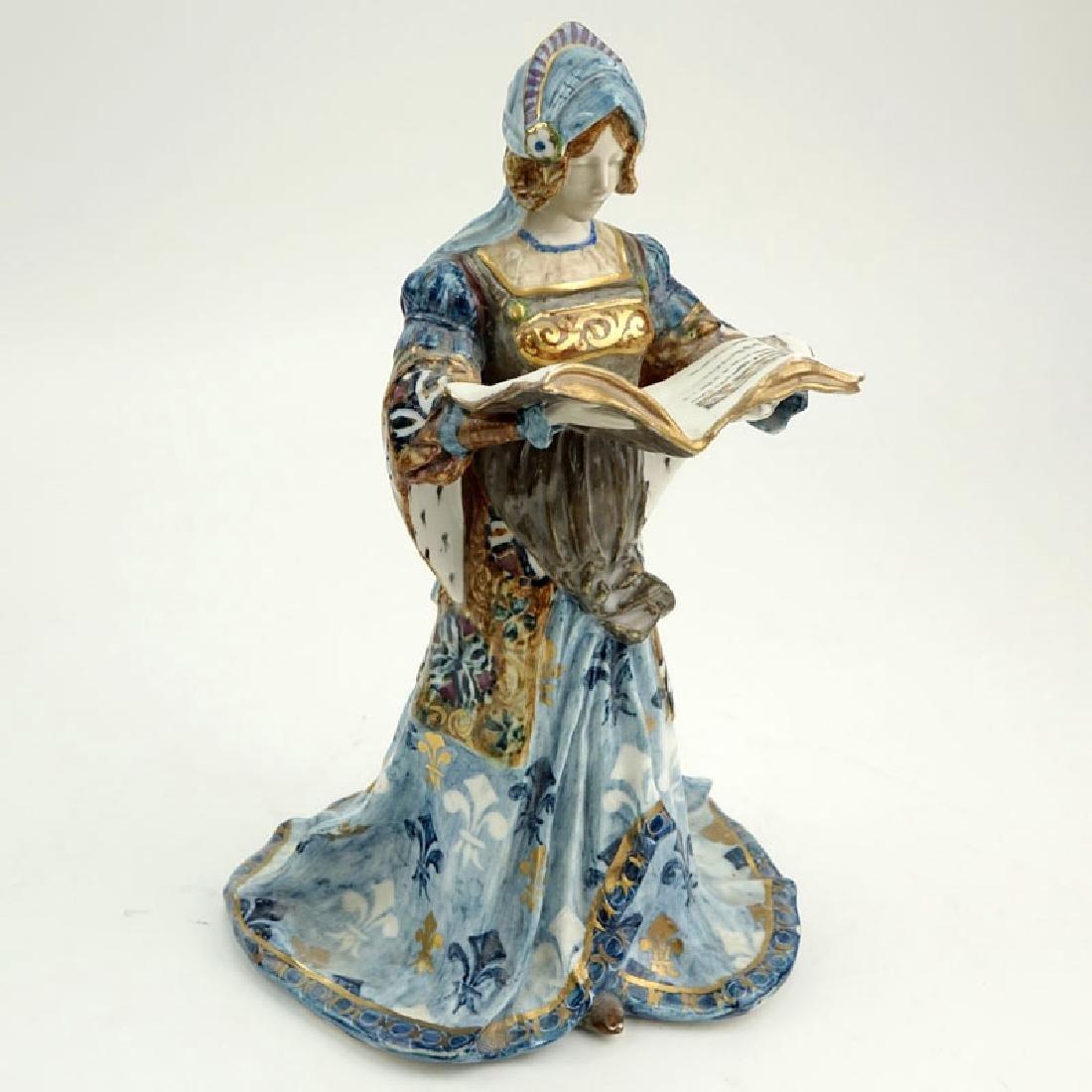 Antique Aloys, French (19th Century) Art Nouveau Glazed