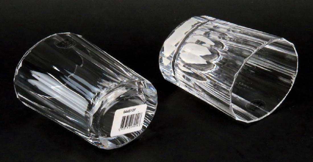 Eleven (11) Dansk Faceted Round Old Fashioned Glass - 2