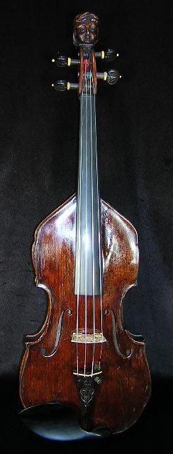 14: Rare German Made Heinrich Th. Heberlein Violin. Pro