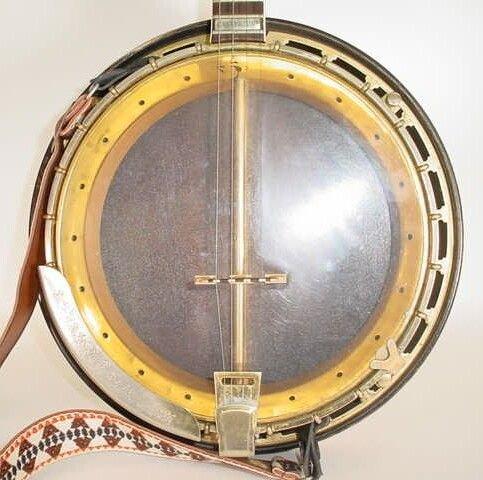 16: 1962 4-String Gibson Mastertone TB-250 Tenor Banjo  - 6
