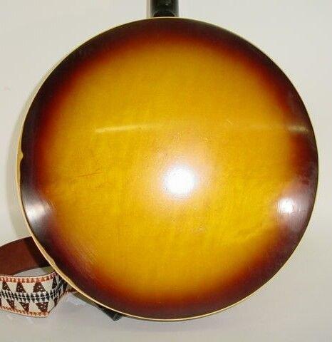 16: 1962 4-String Gibson Mastertone TB-250 Tenor Banjo  - 7