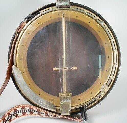 16: 1962 4-String Gibson Mastertone TB-250 Tenor Banjo  - 9