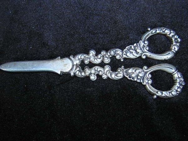 501: Ornate Tiffany and Company Sterling Silver Grape S