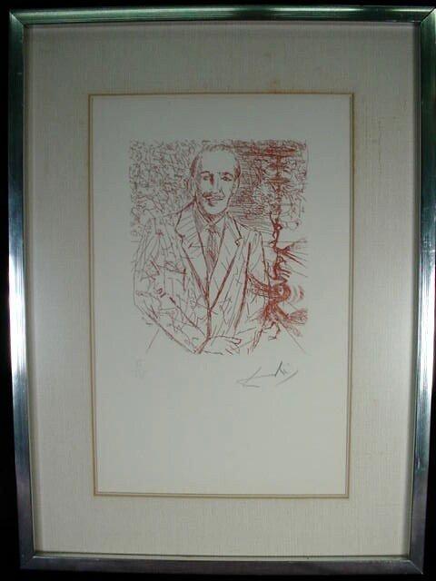 524: Salvador Dali Spanish (1904-1989) Limited Edition