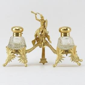 Early 20th Century Napoleon III Style Gilt Bronze and