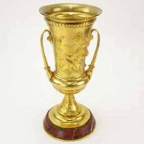 Early 20th French Empire Style Century Gilt Bronze