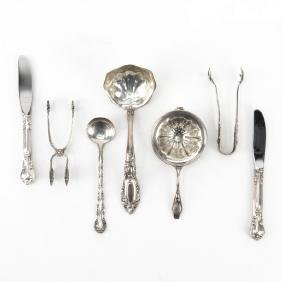 Collection of Seven (7) Sterling Silver Utensils