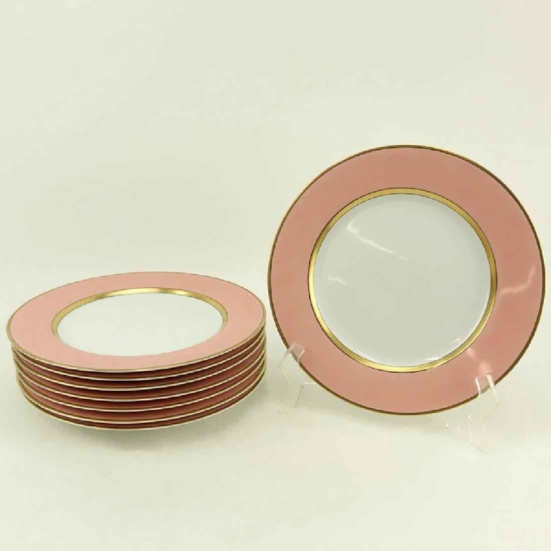 """Set of Eight (8) Fitz & Floyd """"Renaissance"""" Porcelain"""