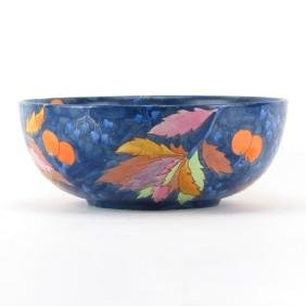 "Carlton Ware Handcraft ""Cherry"" Pattern Pottery Bowl"