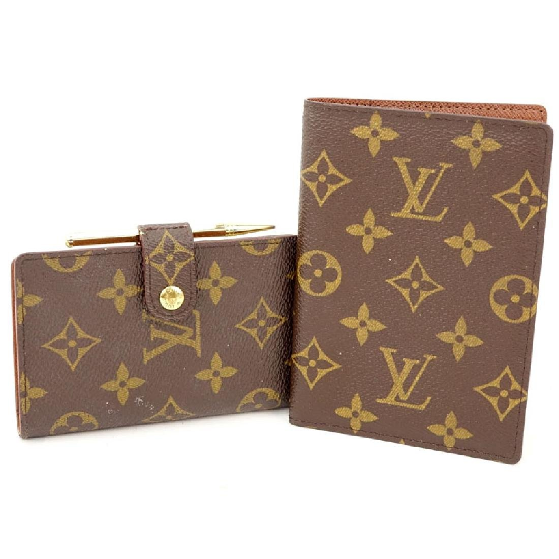 Two Pieces - Louis Vuitton Monogram Address Phone &