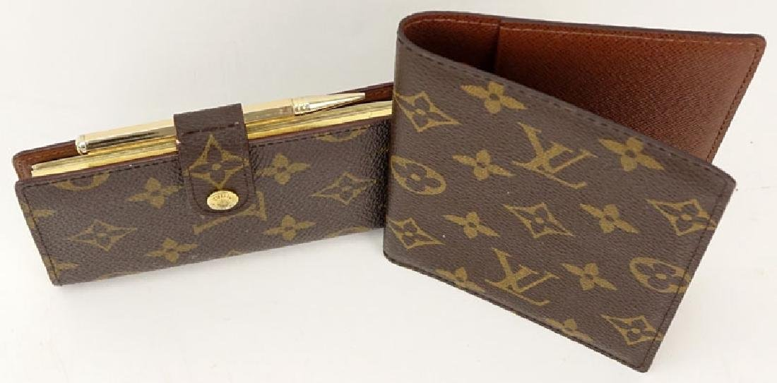 Two Pieces - Louis Vuitton Monogram Address Phone & - 2