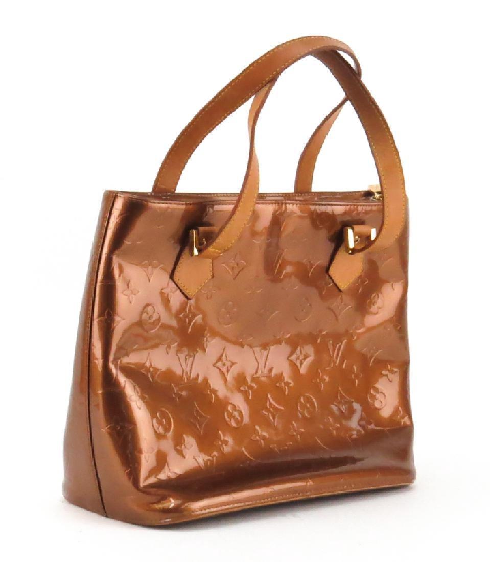 Louis Vuitton Vernis Houston Bag. Copper monogram - 2
