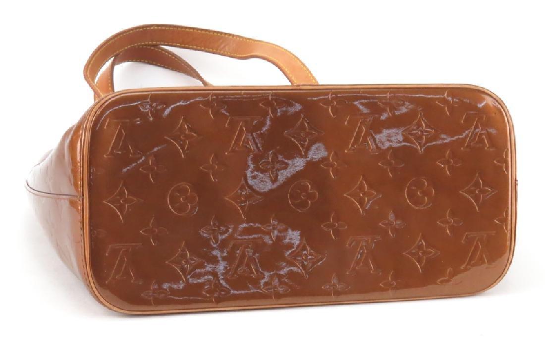 Louis Vuitton Vernis Houston Bag. Copper monogram - 3