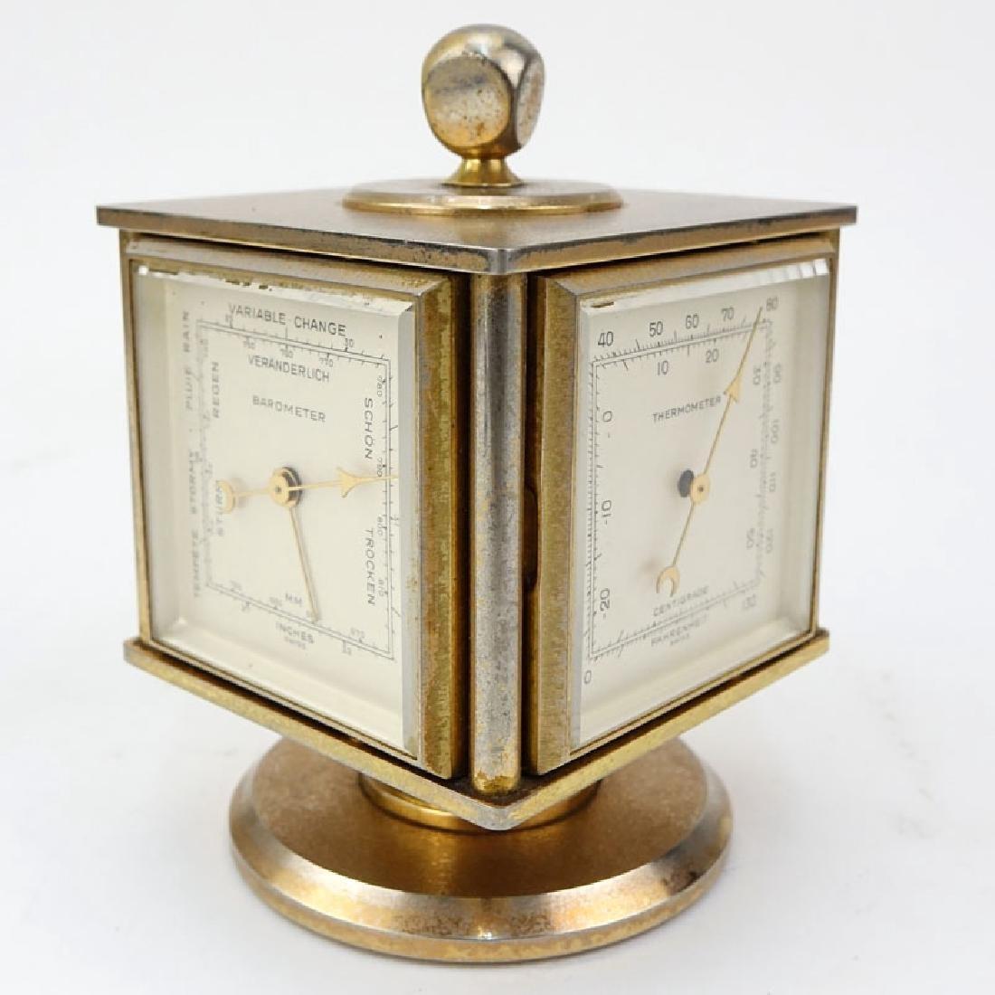 Vintage Bucherer Imhof 4 Sided Art Deco Table Clock. - 3
