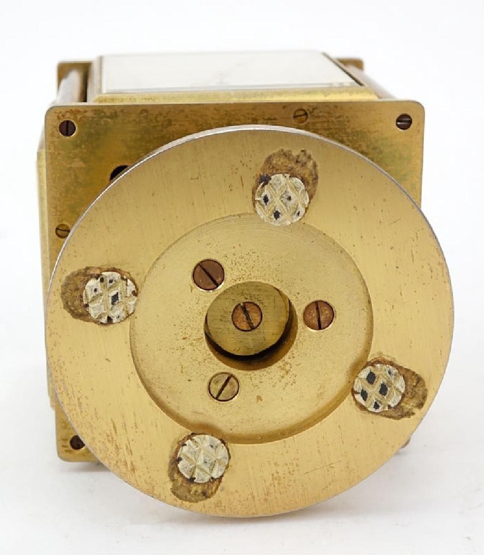 Vintage Bucherer Imhof 4 Sided Art Deco Table Clock. - 8
