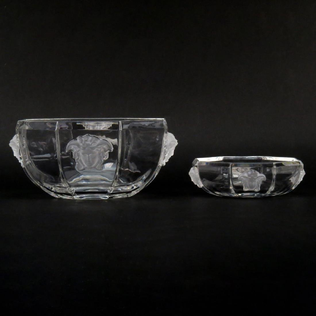 Versace for Rosenthal Treasury Crystal Bowl and Candy
