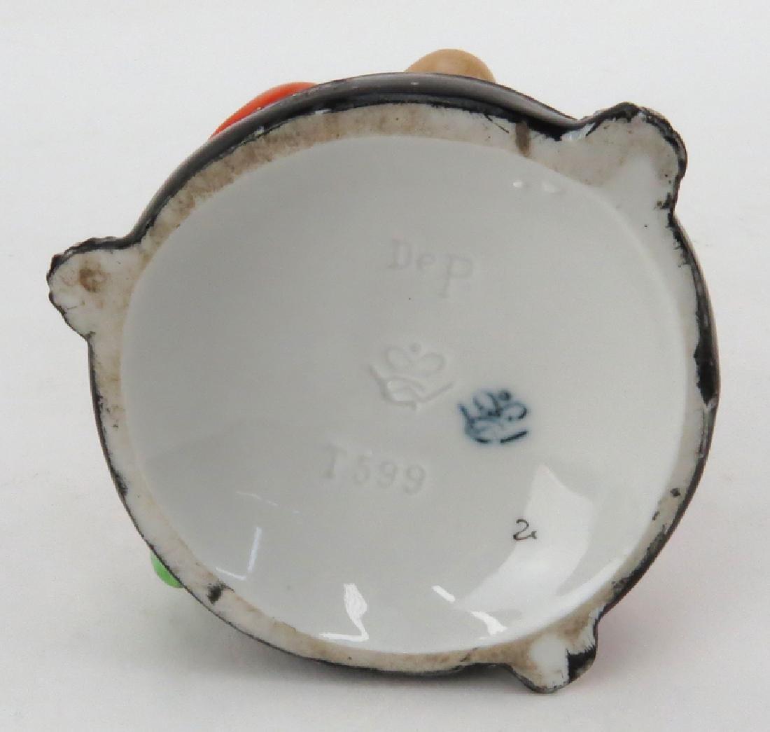 Circa 1920s Goebel German Porcelain Art Deco Perfume - 4