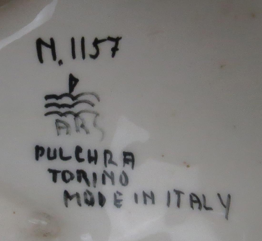 Ars Pulchra Torino Italian Art Deco Glazed Ceramic - 3