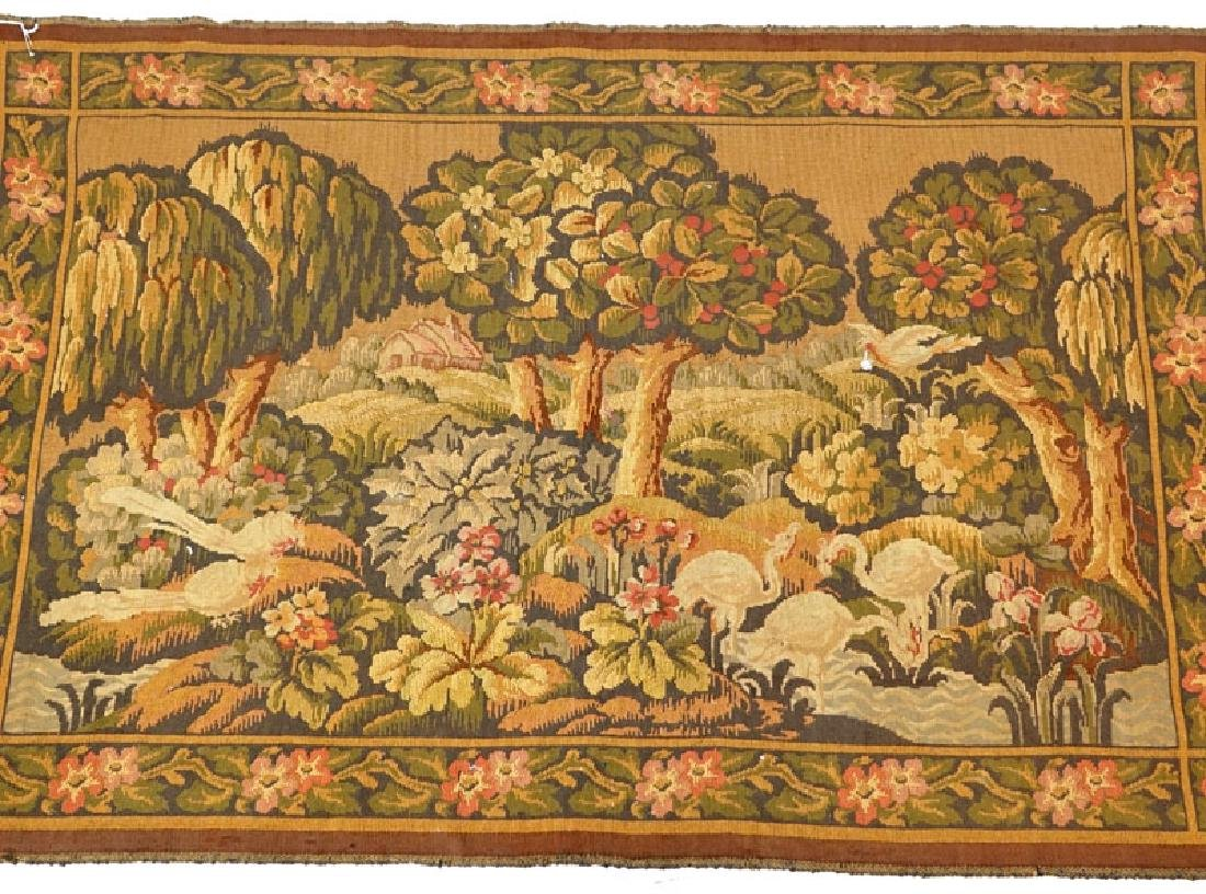 Late 19th Century French Tapestry. Depicts a landscape - 2