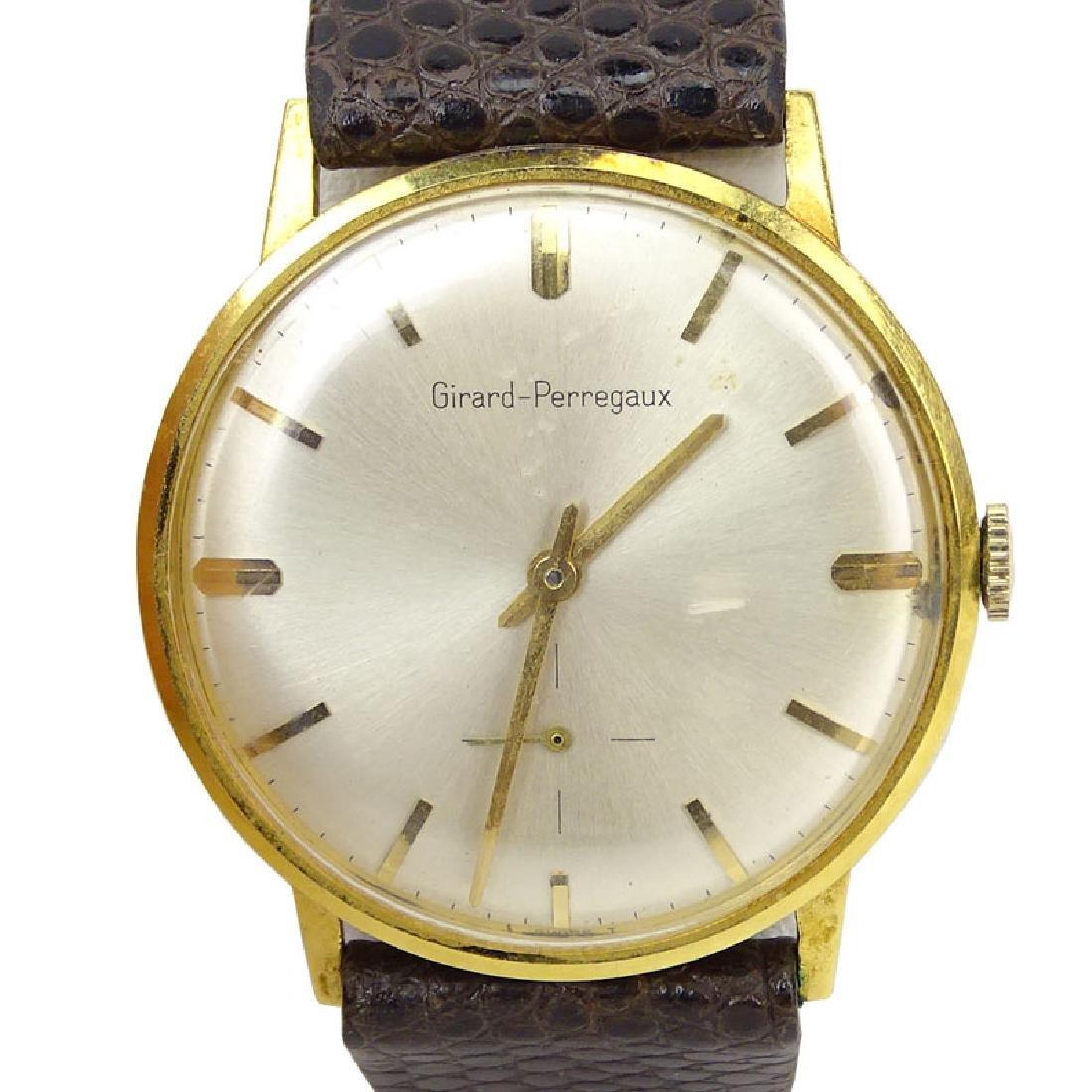 Man's Vintage Girard-Perregaux 14 Karat Yellow Gold