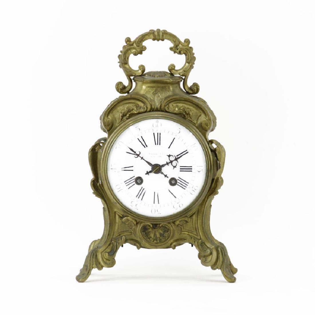 19/20th Century Tiffany & Co Rococo style Bronze