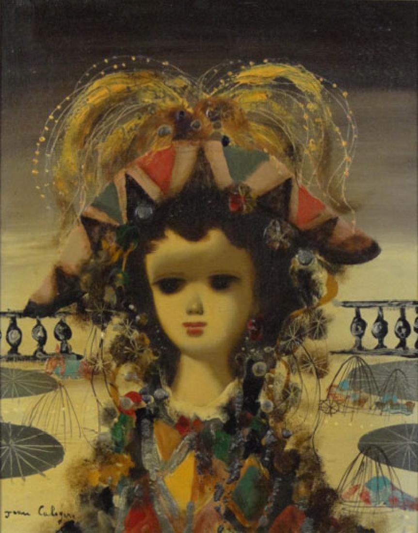 Jean Calogero Italian  (1922-2001) Oil on Canvas