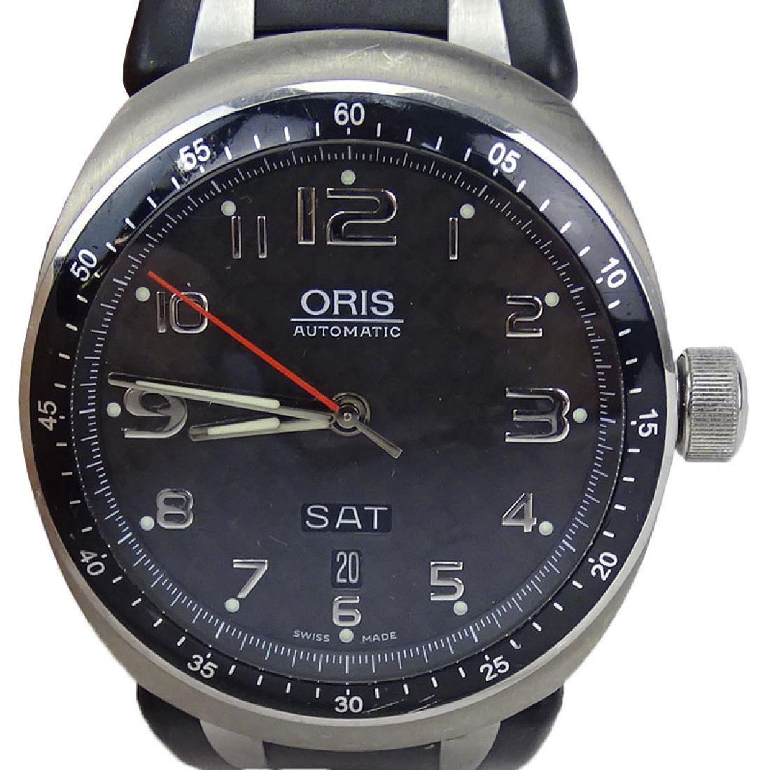 Men's Oris Automatic Watch, Titanium Case with Skeleton
