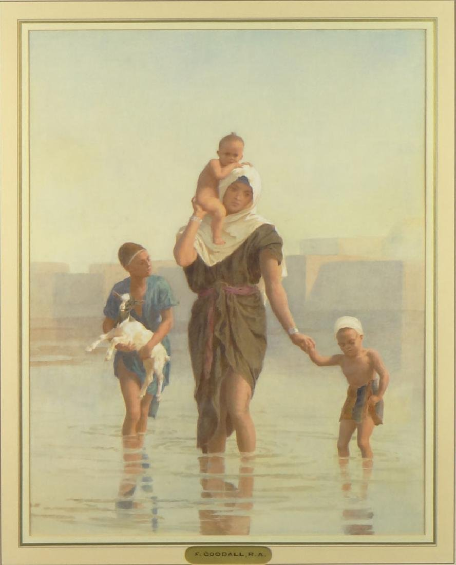 Frederick Goodall British (1822-1904) Watercolor and