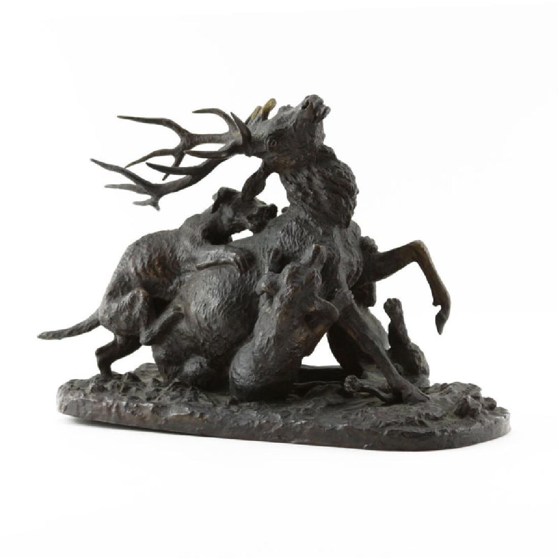 Christophe Fratin, French (1801–1864) Bronze Sculpture