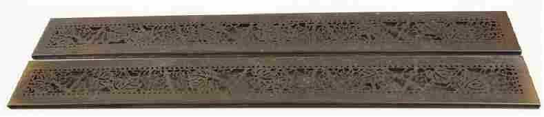 Tiffany Studios Blotter Ends, Bronze in the Grapevine