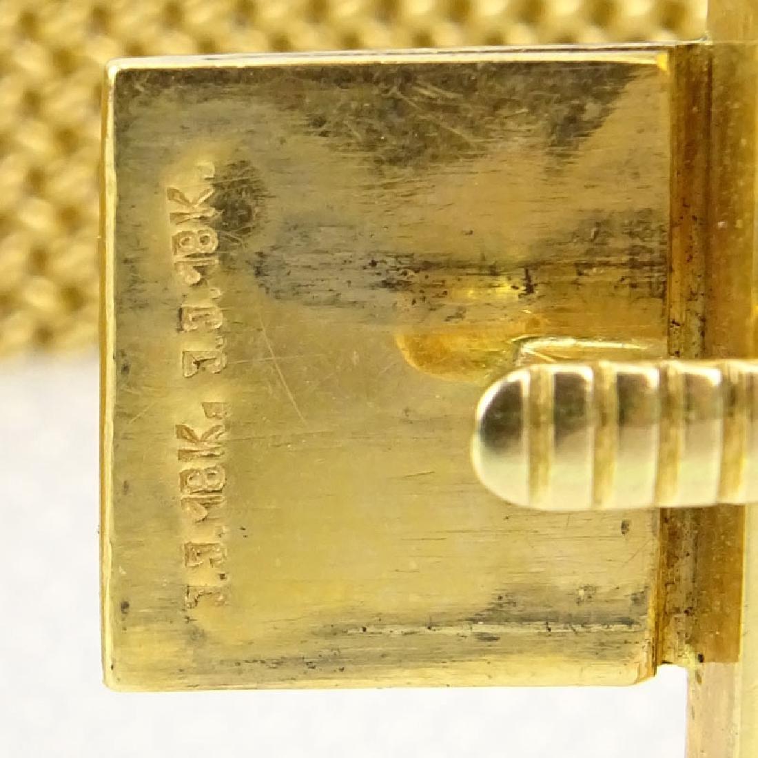 Vintage Heavy 18 Karat Yellow Gold Flexible Link - 3