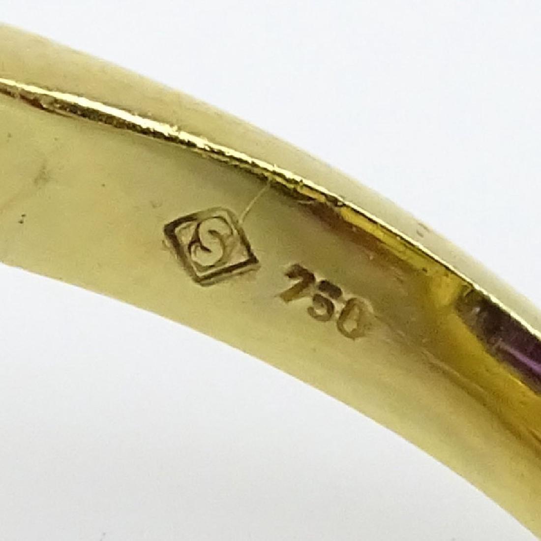 H Stern Sugarloaf Cabochon Amethyst, Pave Set Diamond - 3