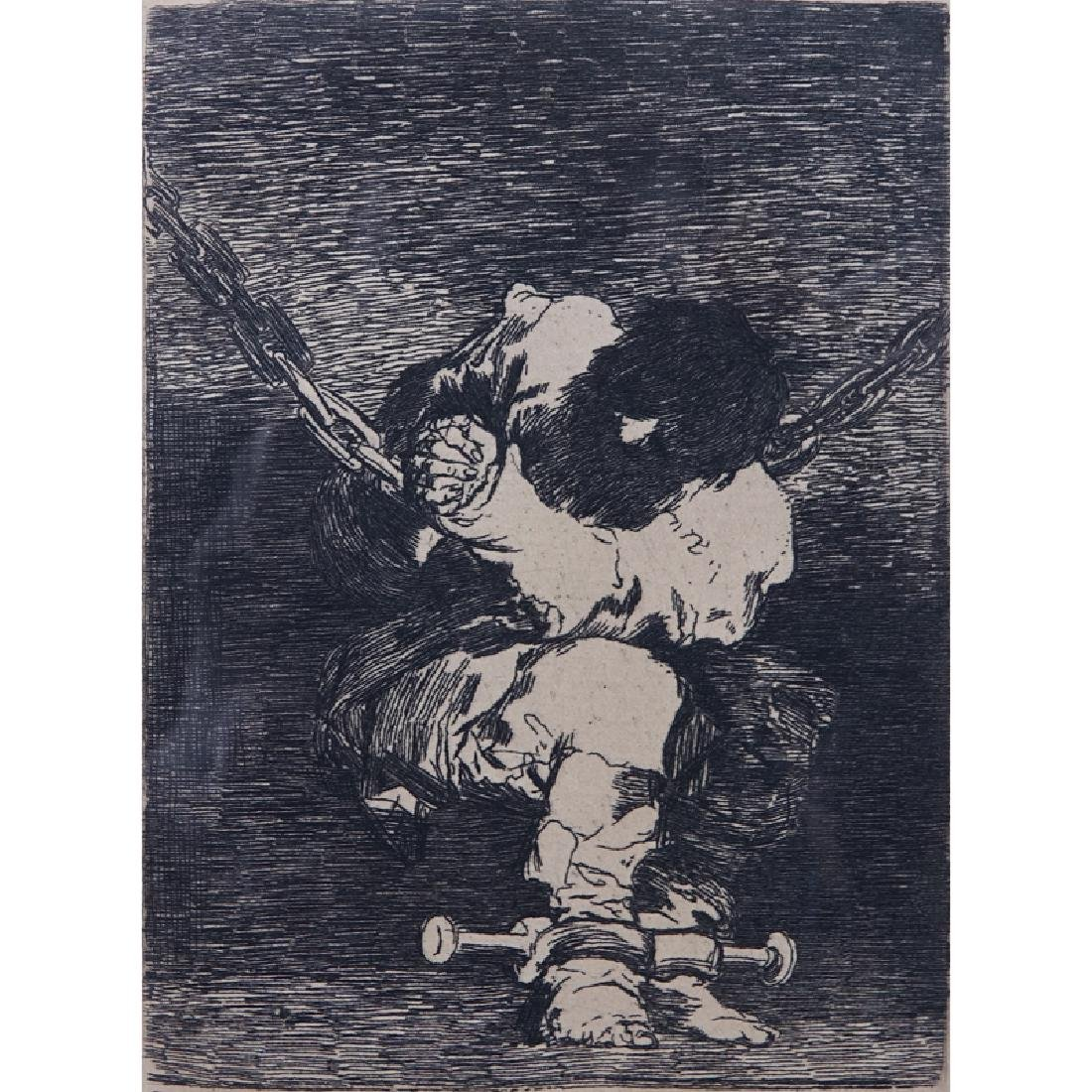 Francisco de Goya (Spanish, 1746-1828) Etching from