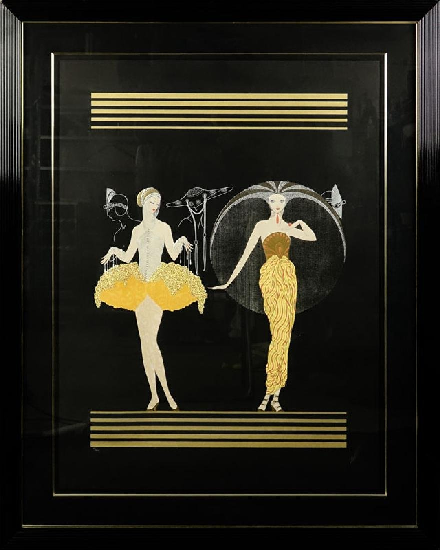 "Erte, Russian/French (1892-1990) ""Morning Day"" Limited - 2"