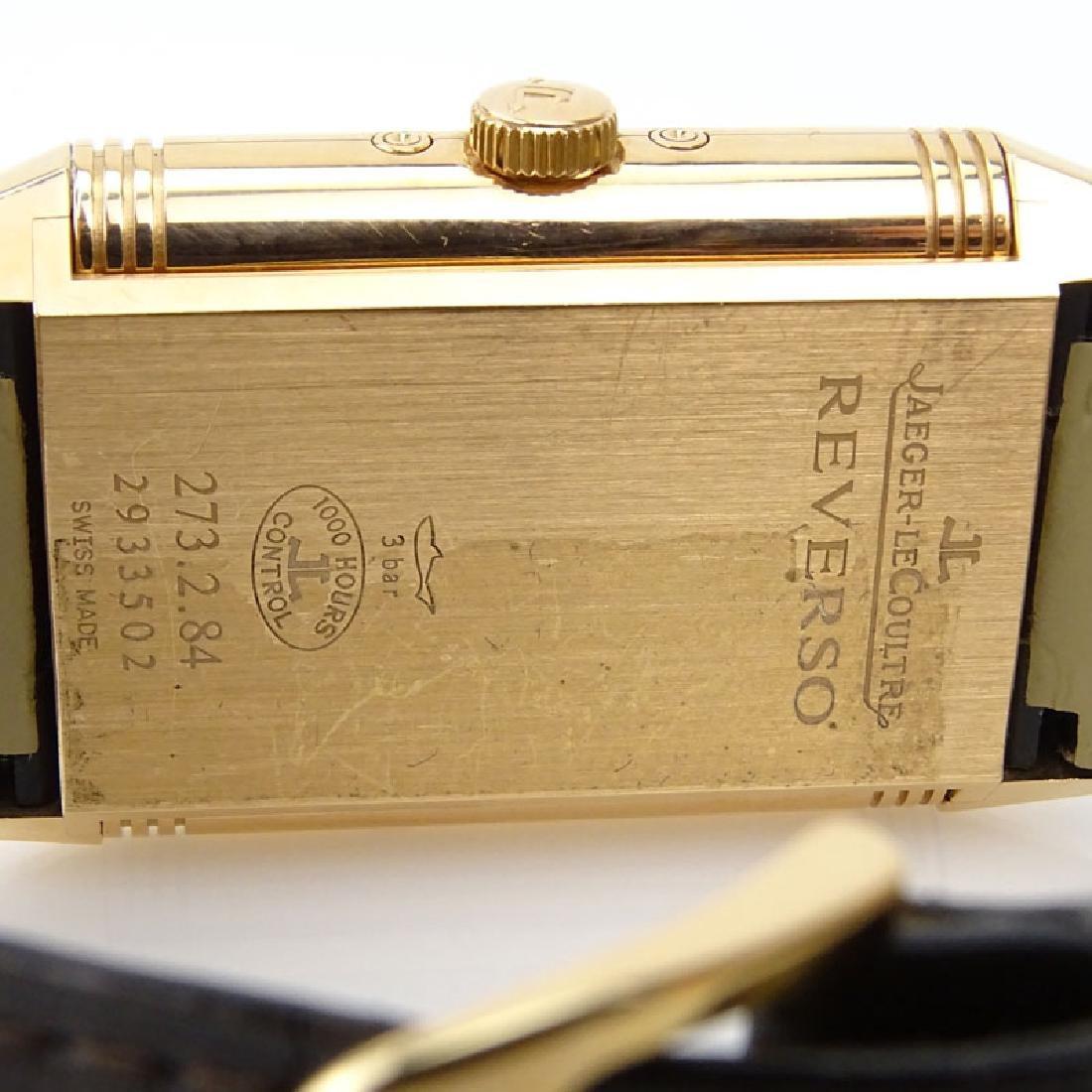 Man's Jaeger LeCoultre 18 Karat Rose Gold Grand Reverso - 6