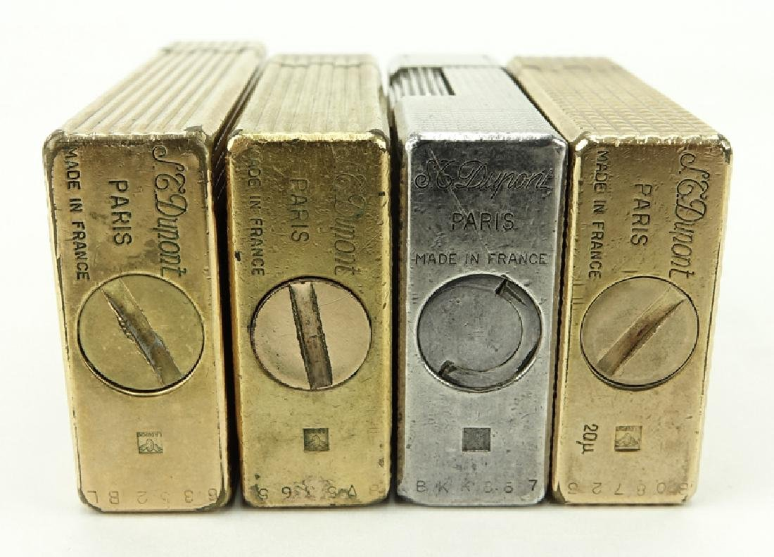 Collection of Four (4) S.T. Dupont Lighters. 2 are - 3