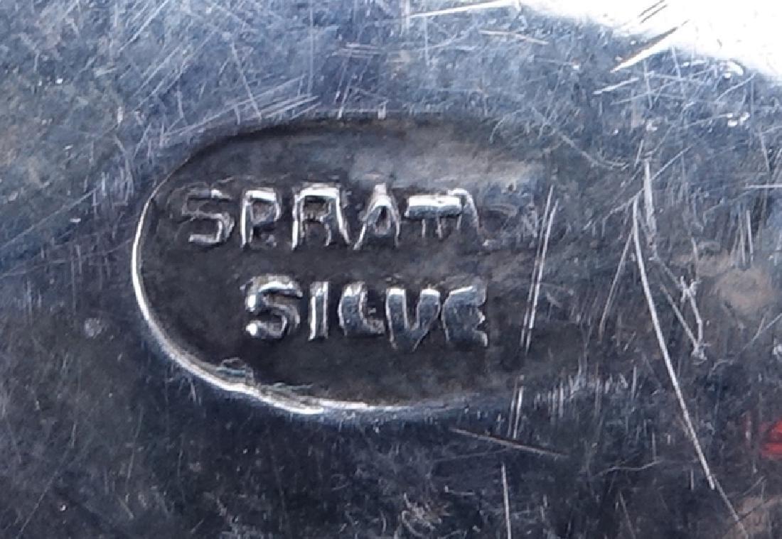 Vintage William Spratling, Mexico Sterling Silver Nut - 3