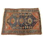 SemiAntique Persian Rug Some discoloration wear to