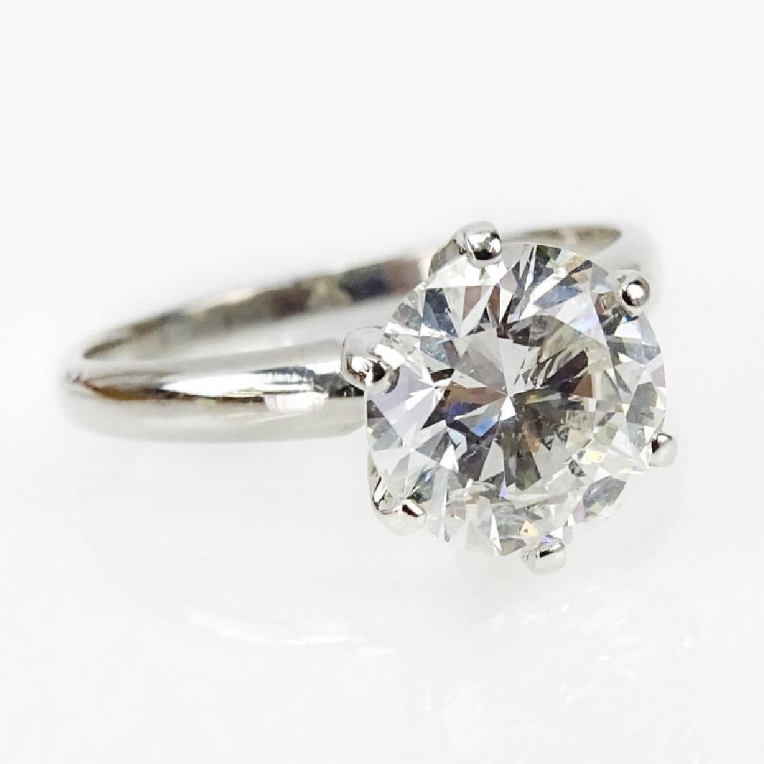 EGL Certified 2.06 Carat Round Brilliant Cut Diamond