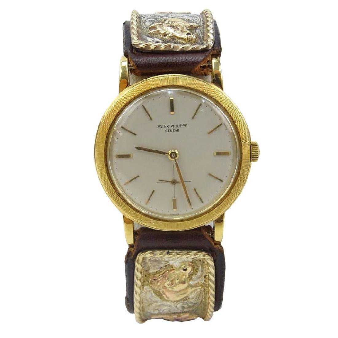 Vintage Patek Philippe 18 Karat Yellow Gold Automatic