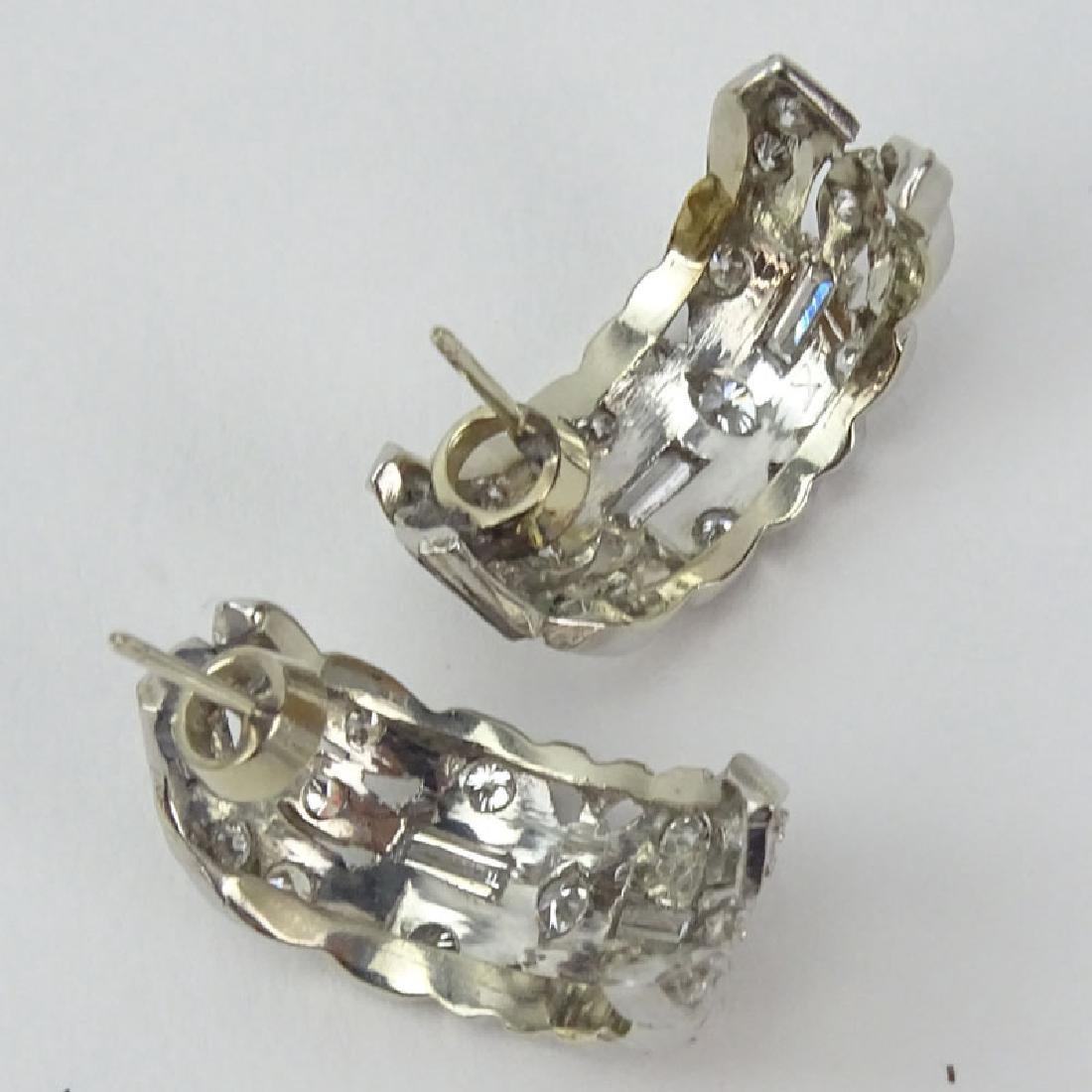 Vintage Approx. 2.25 Carat TW Diamond and Platinum - 2