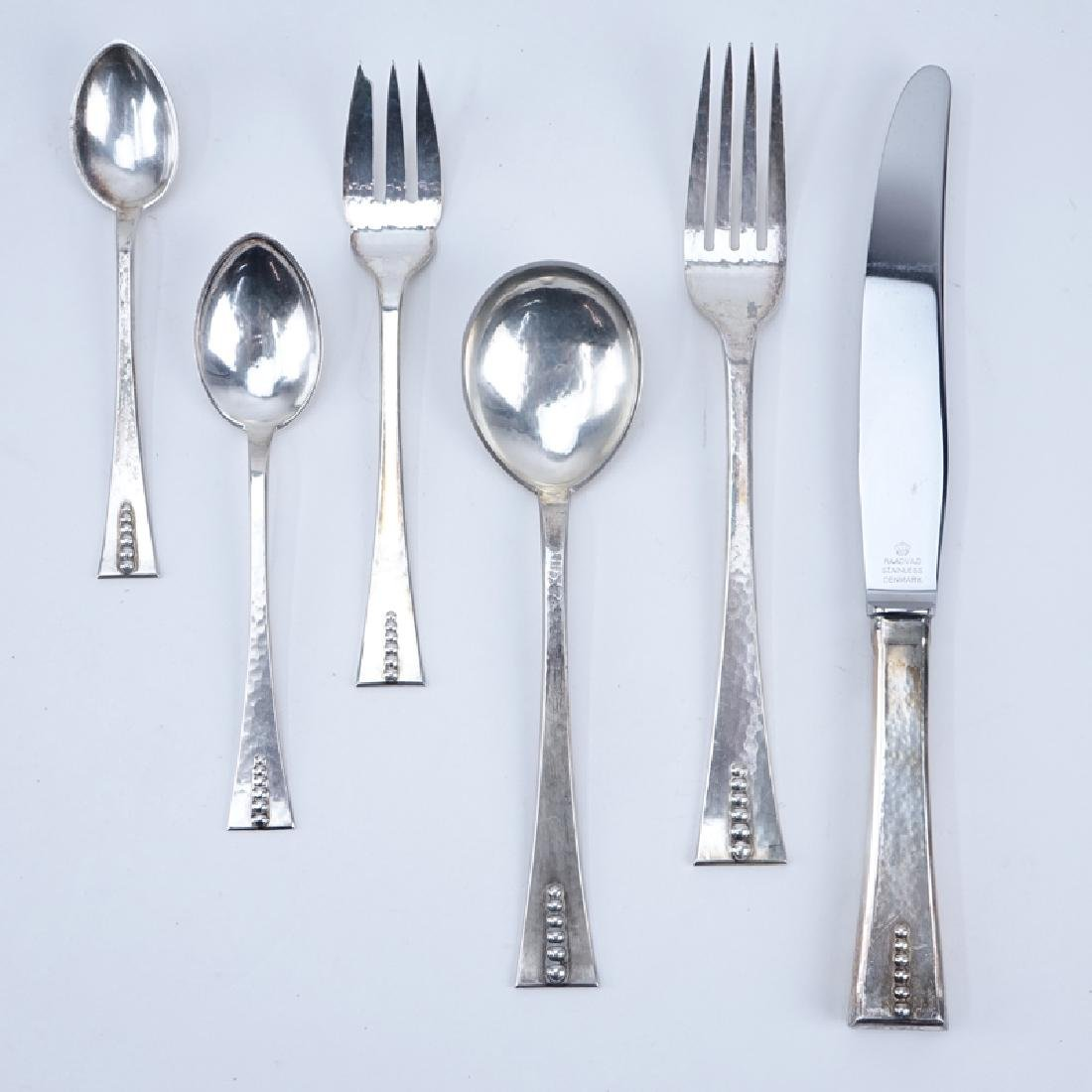 Seventy Two (72) Pieces Carl Poul Petersen Sterling