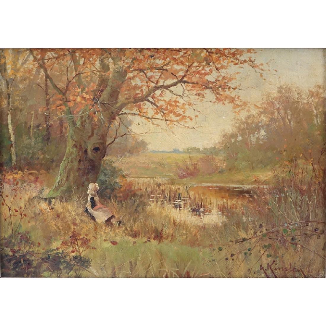 Albert Kinsley, British (1852 - 1945) Oil on canvas