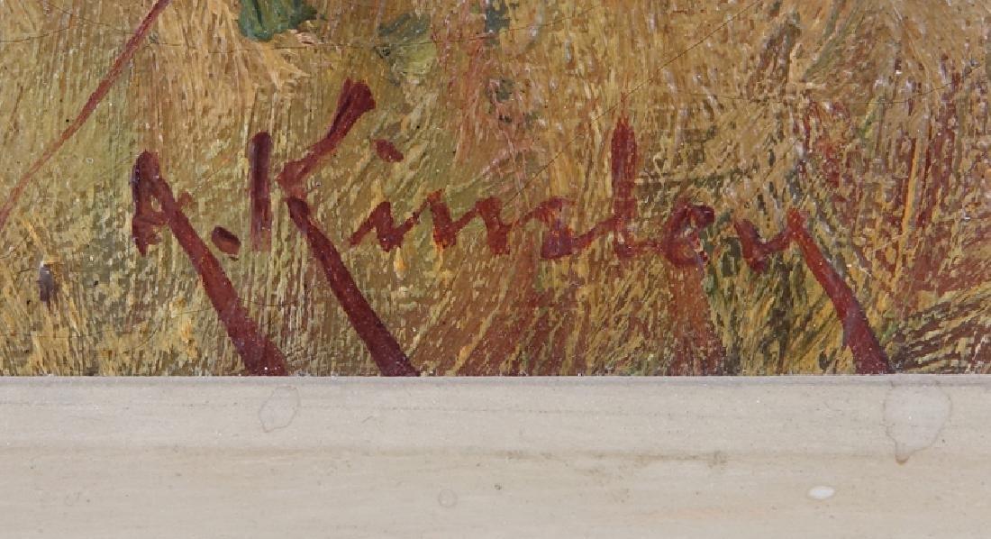 Albert Kinsley, British (1852 - 1945) Oil on canvas - 2